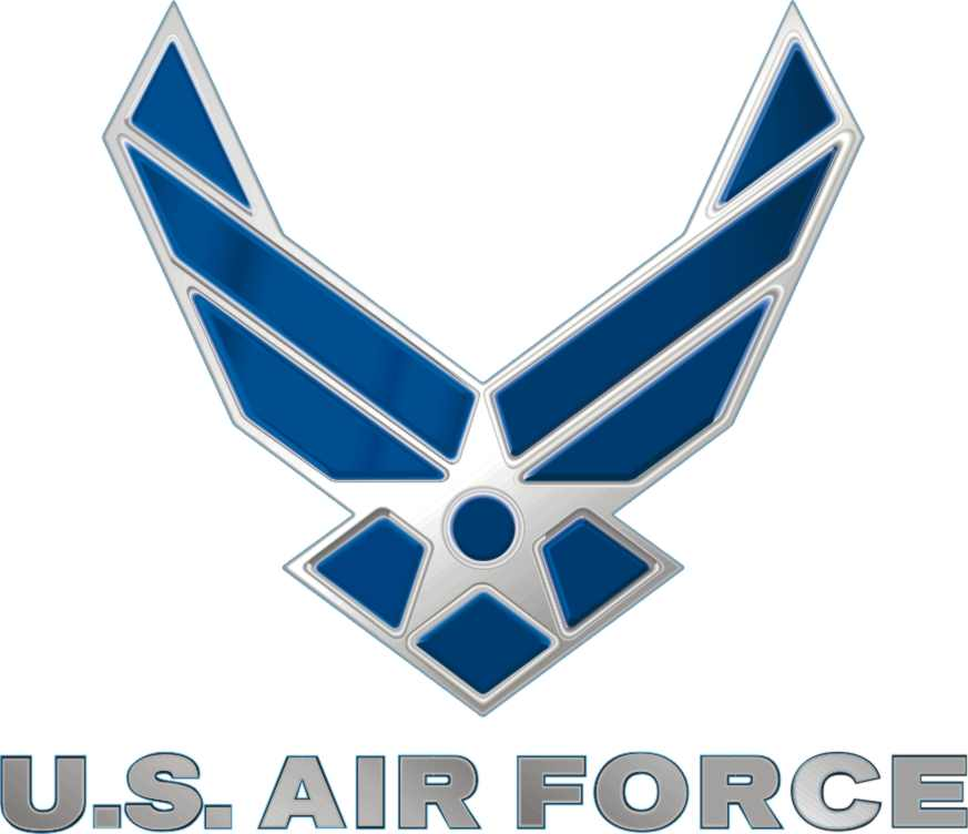 US AIR FORCE Hap Wing MILITARY DECAL