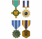 US Air Force Medals <br>(Full Size)