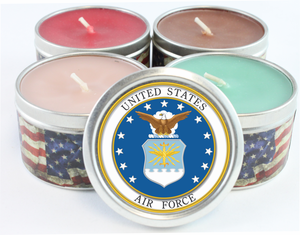 US Air Force Emblem Scented Candles