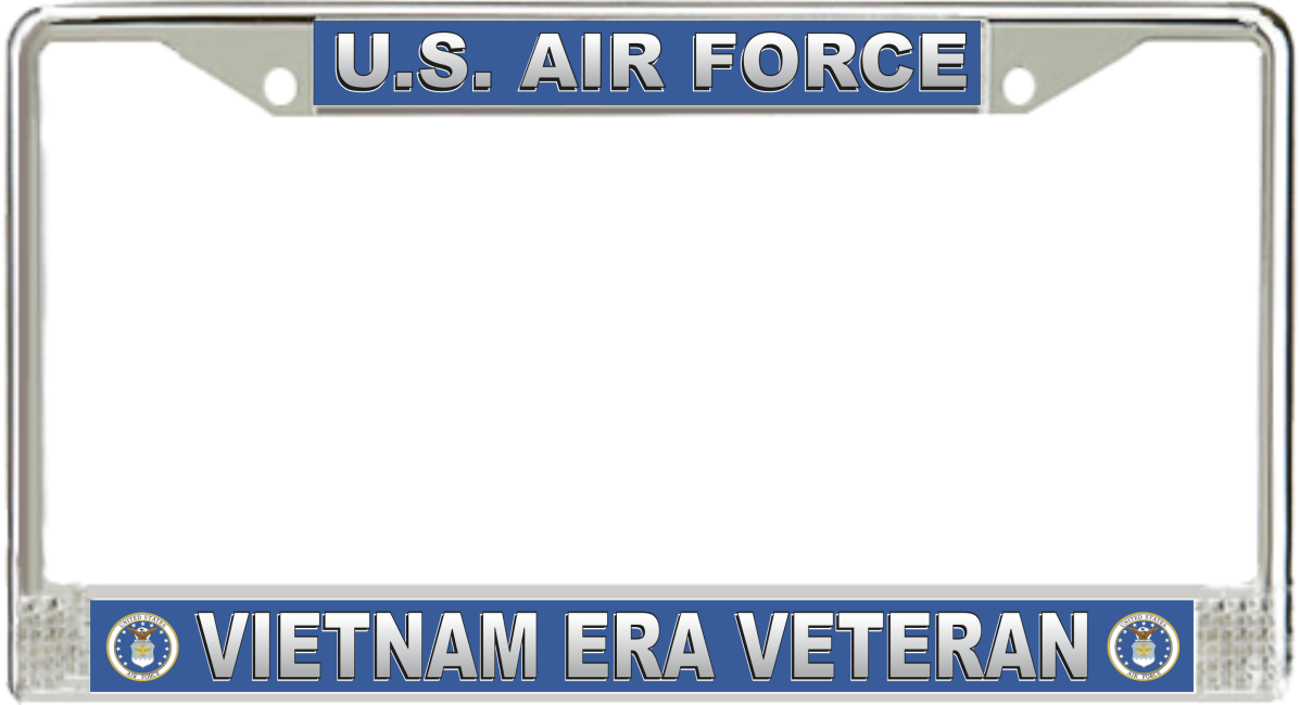 U.S. Air Force Vietnam Era Veteran License Plate Frame
