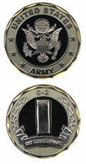 U.S. Army 1st Lieutenant O-2 Challenge Coin