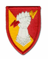 """US ARMY 38TH ARTILLERY BRIGADE 2 3/4"""" MILITARY PATCH"""