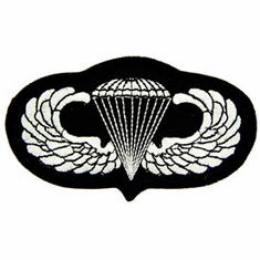 U.S. Army Basic Jump Wings Parawings Patch