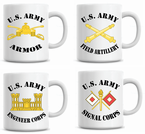 U.S. Army Coffee Mugs