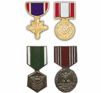 US Army Medal Hat Pins