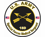 US Army MOS 18C Special Forces Engineer Sergeant