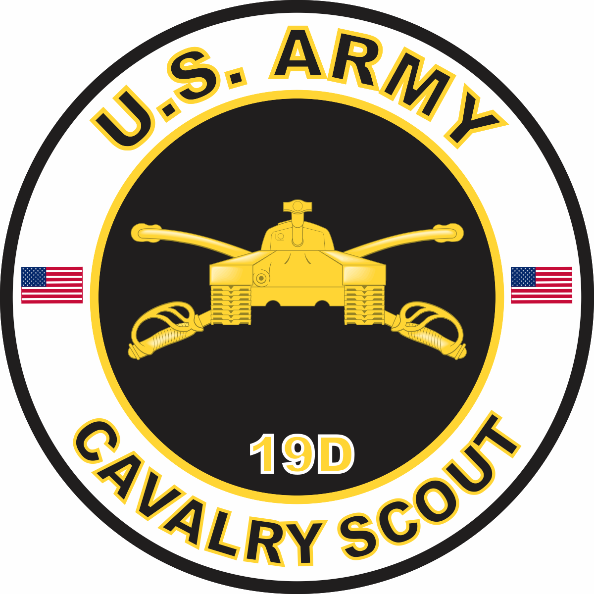 Army MOS 19D Cavalry Scout