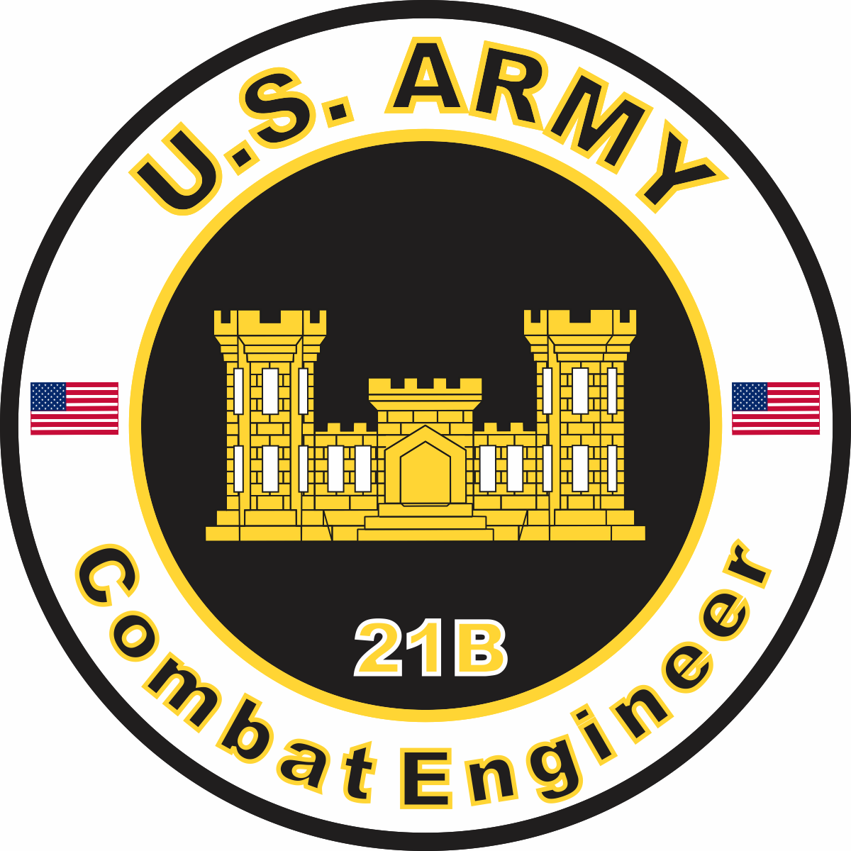 Combat Engineer Logo | was an Army Combat Engineer. Got ... |Usmc Combat Engineer Logo