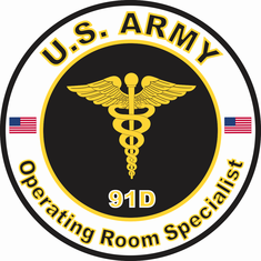 U.S. Army MOS 91D Operating Room Specialist