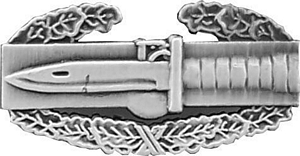 "U.S. Army  Combat Action Badge 1"" Lapel Hat Pin"