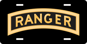 U.S. Army Ranger License Plate