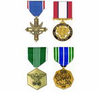 U.S. Army Service Medals (Full Size)