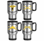 U.S. Army Stainless Steel Branch Travel Mugs