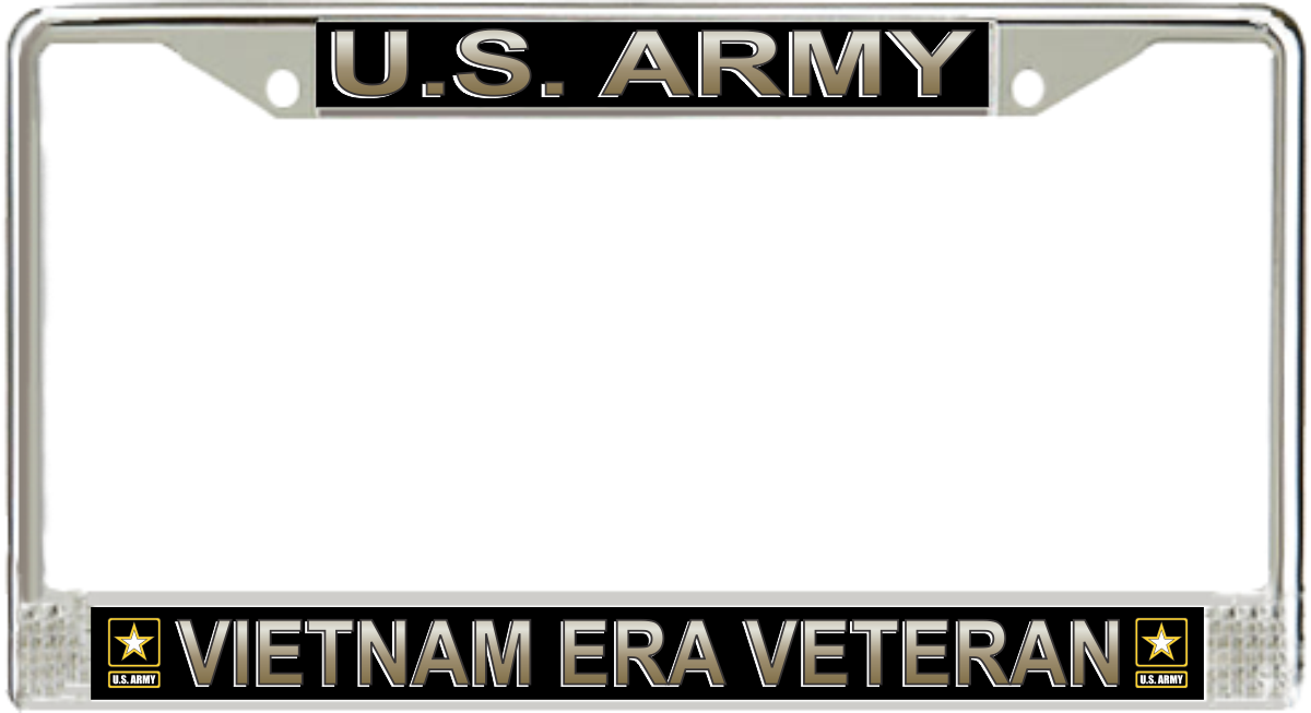 U.S. Army Vietnam Era Veteran License Plate Frame
