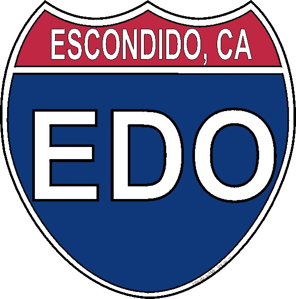 Us interstate sticker escondido california