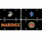 US Marine Corps License Plates