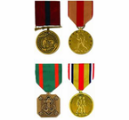 US Marine Corps Medals (Full Size)