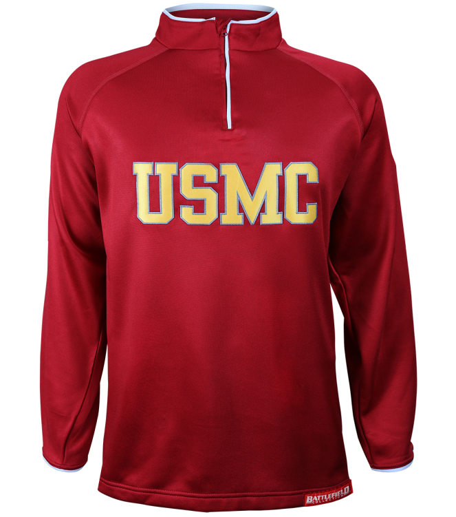 Us marine corps red embroidered performance jacket