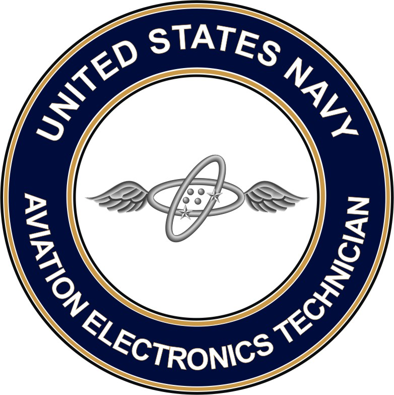 U.S. Navy Aviation Electronics Technician AT decal