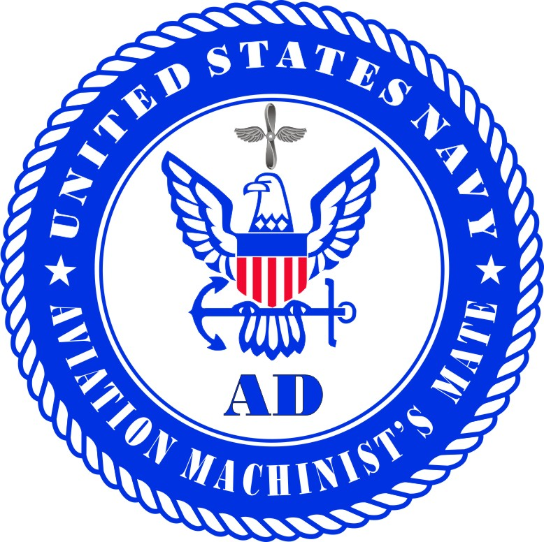 us navy aviation machinists mate decal sticker