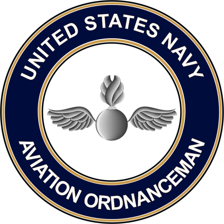 U S Navy Aviation Ordnanceman Ao Decal