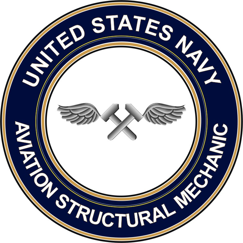 U.S. Navy Aviation Structural Mechanic AM decal