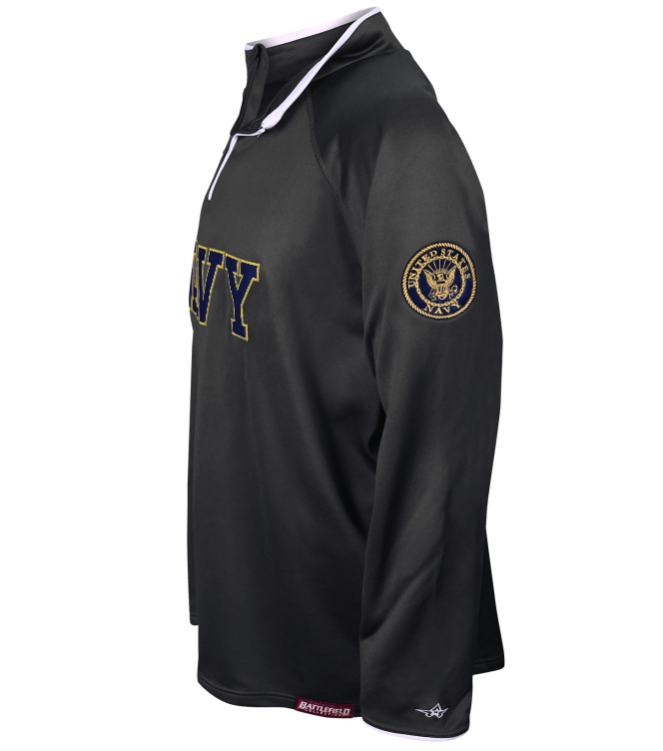 U s navy embroidered performance jacket