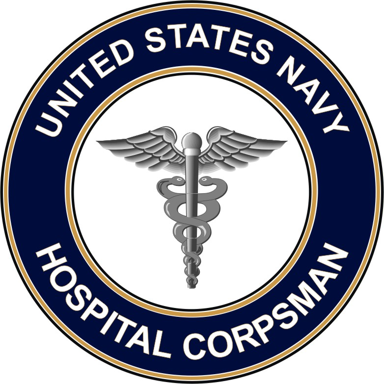 U S Navy Hospital Corpsman Hm Decal