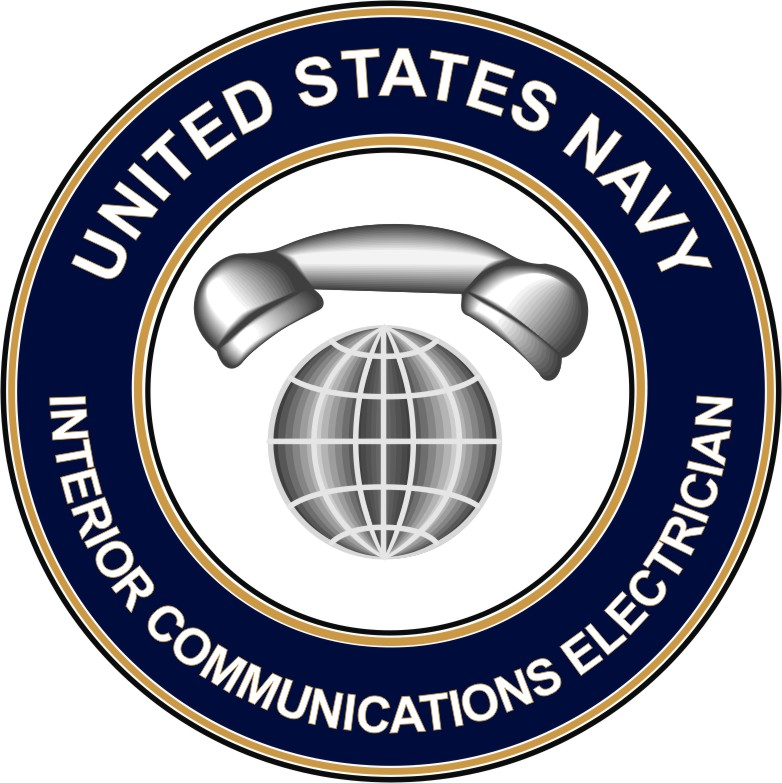 U S Navy Interior Communications Electrician Ic Decal