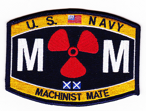 Navy Machinist Mate MM Patch