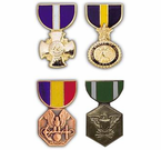 US Navy Medal Hat Pins