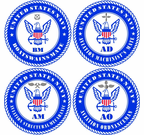 U.S. Navy Rate Decals and Sticker