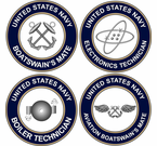 U.S. Navy Rate Decals Stickers