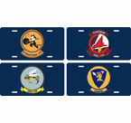 U.S. Navy Squadron License Plates