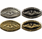 U.S. Navy Submariner Belt Buckles