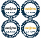 U.S. Navy Submariner Proud Family Decals