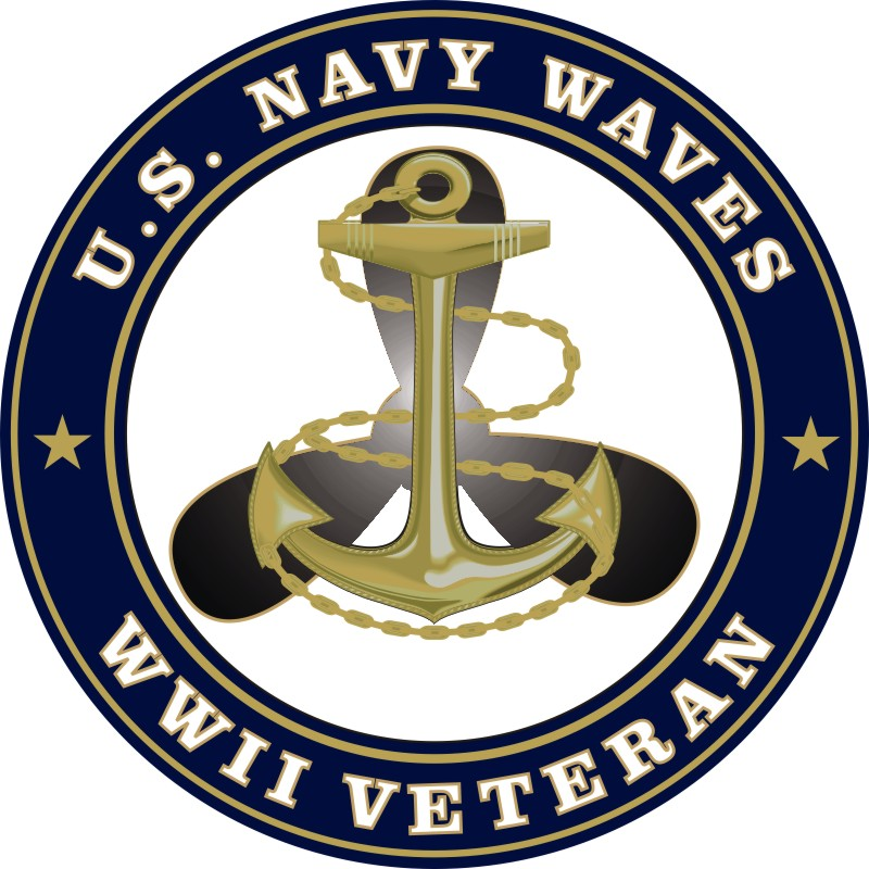 u s navy waves wwii veteran decal rh militarybest com Japan Clip Art Vietnam War Clip Art