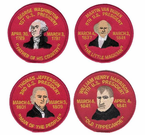 US President Patches