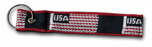 "USA 5½"" NYLON KEY RING"