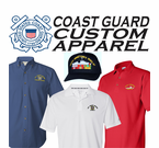 USCG Custom Polo, T, and Sweatshirts