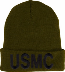 "USMC ""olive green"" Watch Cap"