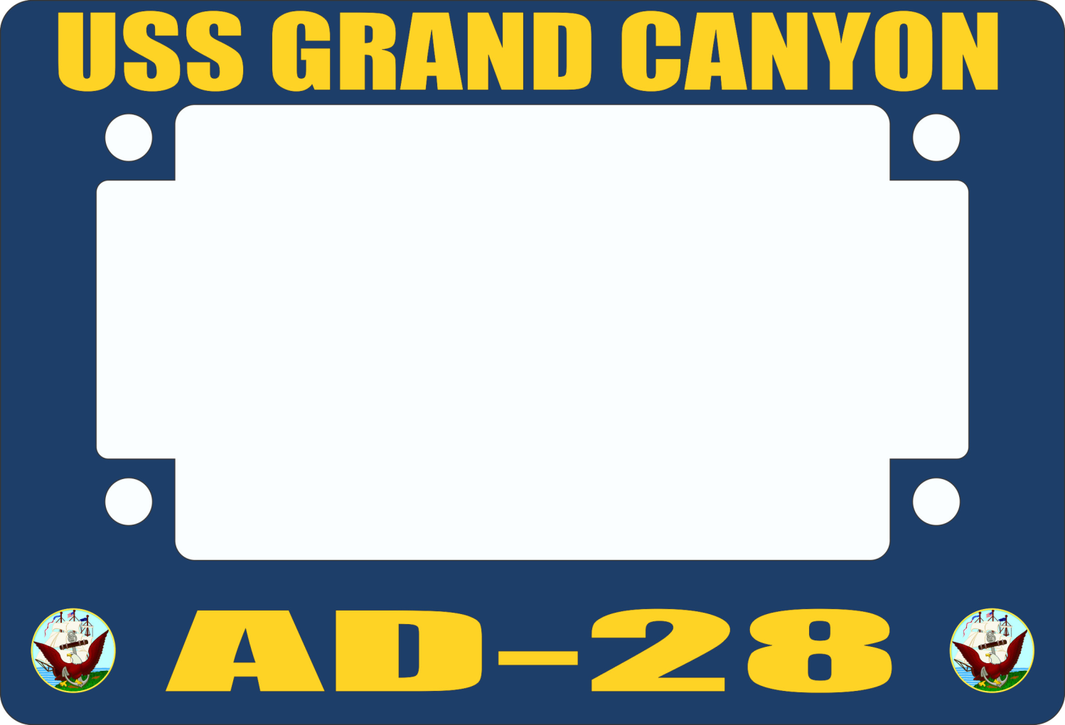 USS Grand Canyon AD-28 Motorcycle Frame
