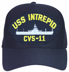 USS Intrepid CVS-11 Ships Ball Cap