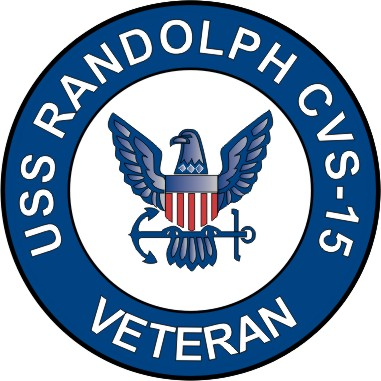 Uss randolph cvs 15 veteran decal sticker