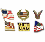 Veteran and Patriotic Lapel Pins