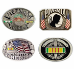 Veteran and Pride Belt Buckles