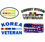 Veterans Decals and Bumper Stickers