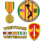Vietnam Decals and Vietnam Stickers