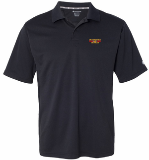 Vietnam Era Veteran Champion Moisture Wicking Polo