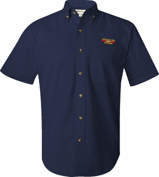 Vietnam Era Veteran Short Sleeve Button Down